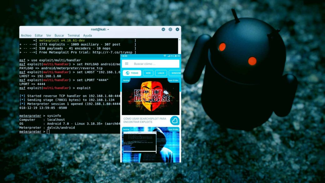 Incrustar Meterpreter en cualquier Android APK – Blog